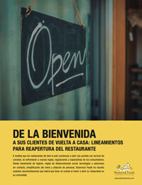 Spanish: Welcome Customers PDF Preview